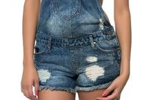 Damsel in Distress / #Distressed #Denim #Rugged #Rips #Overwashed #Overalls / by Karmaloop