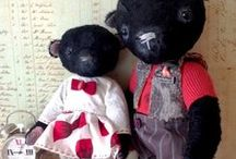 Teddy bears / Teddy bears - the most popular handmade toys. View - http://arthandmade.net/catalog/mishkiteddi