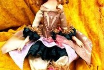 Collectible dolls / Collectible dolls - unique handmade dolls for collectors. View - http://arthandmade.net/catalog/avtorskiekykli