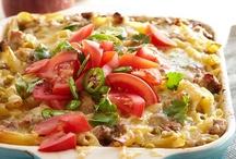 Recipes: Pasta, Entrees, & Casseroles