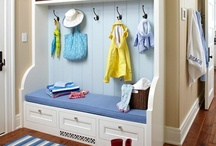 Mudrooms Without the Mud / by SAS Interiors Jenna Burger