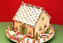 Gingerbread Houses / My mom made Gingerbread house when i was little. Boy did that make our holiday, feel so magical. it's just the little things in life that can make you feel good inside.. / by Connie Jean Klein