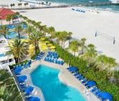 Luxurious Beach Resorts / Enjoy our collection of luxurious beach resorts on the Gulf Coast. All of these resorts receive positive reviews and offer service and accommodations beyond basic vacation rentals. Many offer spa packages, extra amenities, and upscale on-site restaurants.