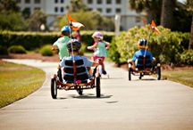 On-site Activities for Kids / Find family-friendly vacation rentals on the Gulf Coast. Some of our resorts offer planned activities for kids, seasonal day camps, tennis camps, and other on-site facilities and activities, such as playgrounds and waterslides.