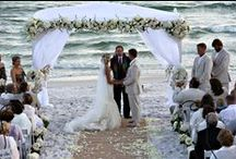 Beach Wedding Venues / Plan an unforgettable wedding at the beach! The Gulf Coast provides a gorgeous backdrop for your ceremony and photos that will last a lifetime. Beach weddings can be more relaxed and less expensive than traditional weddings. Browse our pins and learn more about planning a beach wedding!