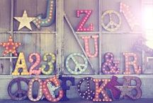 Alphabets from A-Z*