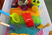 Homeschool: Experiments, Games, Scensory Play