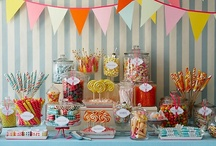 I Like to Party: Backdrops & Table Displays