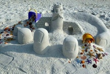 Castles in the Sand, Crazy Critters, and More / The sugar-white sand of the Gulf Coast beaches is perfect for building sandcastles and other fun creations. Check out our board for inspiration and tips for building sandcastles!