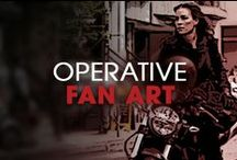 Operative Fan Art / A display of fan created countdown art! / by Covert Affairs