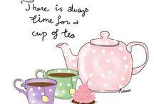 Tea Party ideas / by Vicki Grulke