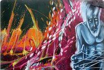 L'art du graffiti / Diaporama de graffitis sur : http://www.minded.fr/worldwide-urban-graffiti-art/.