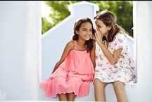 Gorgeous Girls / Girls UV protective swimwear and beachwear for pretty little ladies, from rash guards and bikinis to kaftans and summer dresses