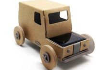 AUTOGAMI / Autogami is a little car in paper powered by sunlight