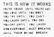 Words / by Emilia Lundquist