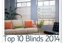 Popular Shades and Blinds / The best of window decorating trends for blinds, shades and shutters. Brought to you by the window treatment experts at Shades Shutters Blinds! #homedecor