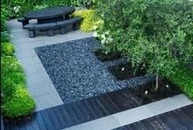 Urban Gardening. / Gardening in an urban environment.