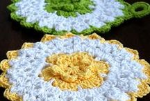Kitchen and bath crochet