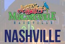 "Nashville / Come ""Conky-Tonkin"" at Jimmy Buffett's Margaritaville! In the heart of downtown Nashville on Honky Tonk Row, Margaritaville has everything you need to have a good time: great authentic southern food, the best bars on Broadway and the caliber of music that's expected in Nashville. / by Margaritaville"