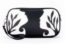 Cykochik Artist Series 3: Vegan Handbag Collection / A collaboration with 6 different artists on 18 bag designs.