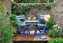 Patio and container Gardening. / Growing in containers for small gardens.