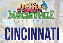 Cincinnati / Escape to Jimmy Buffett's Margaritaville at the Horseshoe Casino in downtown Cincinnati for the ultimate tropical experience! / by Margaritaville Lifestyle