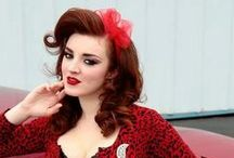 Pin Up Girl / Dresses and designs celebrating the 50's and 60's pin up girl style.