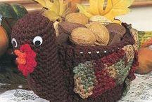 Fall/Halloween/Thanksgiving crochet