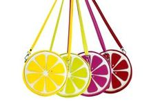 Summer Citrus Vegan Handbags / These refreshingly adorable Citrus crossbody/clutch bags are perfect for long summer days and nights out on the town. Brighten up your day with your favorite fruits - lemon, lime, pink grapefruit, and blood orange. It'll hold all of your essentials, i.e. phone, wallet, keys, and lipstick/gloss. Handmade in Dallas, TX since 2003.