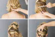 Easy Hairstyles / Are you find some easy hairstyles? In this board you will find easy and simple hairstyle to try.
