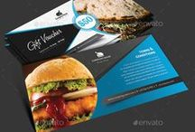 best Gift Voucher Templates / This Gift Voucher Card is best suitable for promoting your business..!