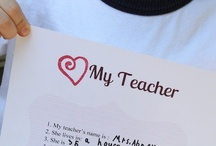 teacher gifts / by Brenna Paterson