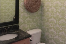Stenciled Bathrooms / by StencilSearch