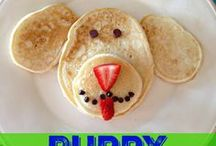 Cooking with Kids / Fun RECIPES that your KIDS will enjoy making and eating with you.