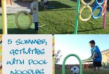 Outdoor Activities / Ideas to get children to be excited about going out to play.