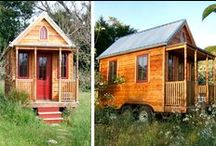 Tiny Homes on Wheels :) / Tiny living in mobile homes. :)