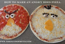 Angry Birds! / All things Angry Birds! Including Angry Birds cakes,  birthday party ideas, games, pizza and more.