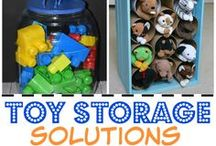 Organizing Your Home / How to organize toys, art supplies and all of the clutter that comes with raising children.