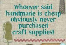 crafty sayings / by Ann Cox