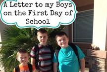 Back to School Fun / Send the kids back to school in style with these awesome back to school tips, easy school lunch ideas, first day of school ideas and more!