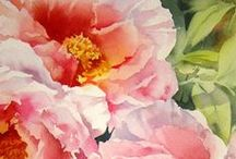 Art - Flowers & Foliage / by Brenda Poe