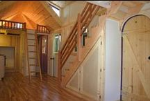 Tiny Home Interiors :) / Space saving solutions and layouts of tiny homes.