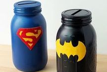 Super Heroes / Super Hero toys, party ideas, crafts and more.