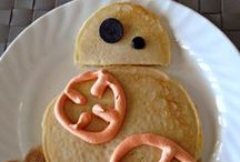 Pancake Creations / Fun Pancake Creations from The Joys of Boys.  Your kids will love these fun Breakfast Ideas.