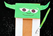 Star Wars / Star Wars Crafts, Recipes, and really cool things!
