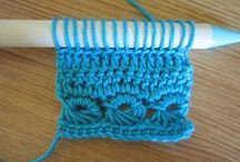 Broomstick lace / Broomstick lace also known as broomstick crochet patterns and ideas