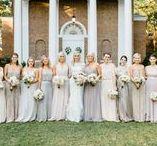 Bridesmaids, Groomsmen and Bridal Party / All photos copyright Caroline Lima Photography. http://www.carolinelima.com/