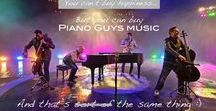 The Piano Guys! :) / Can't think why I haven't done this already! :) Supreme awesomeness deserves a board of its own. :D
