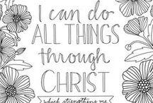 Scripture Journaling / Coloring Pages