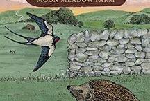 Hedgehog of Moon Meadow Farm - story board / Ideas and inspiration for my Moon Meadow Farm stories - Lynne Garner